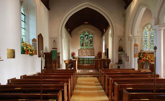 Inside St Bartholomew Church